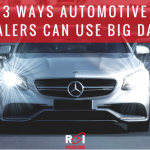 ROI Predictions - 3 Ways Automotive Dealers Can Use Big Data
